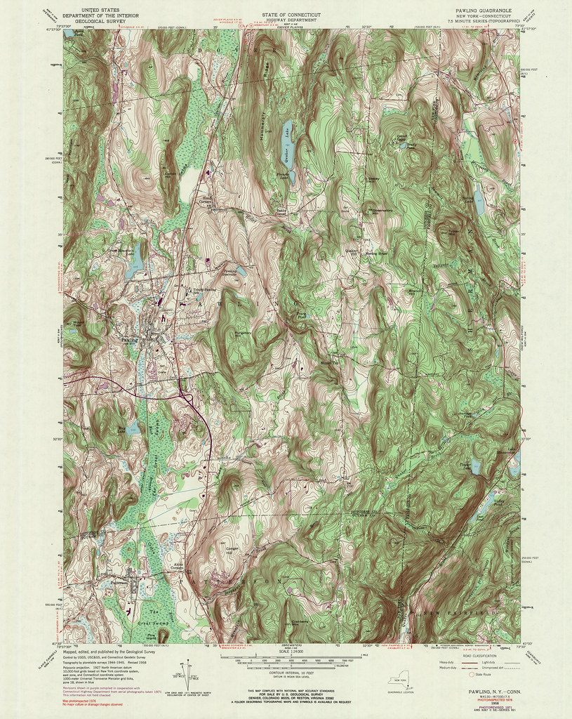 Topographic Map New York State.Pawling Quadrangle 1976 Usgs Topographic Map 1 24 000 Flickr