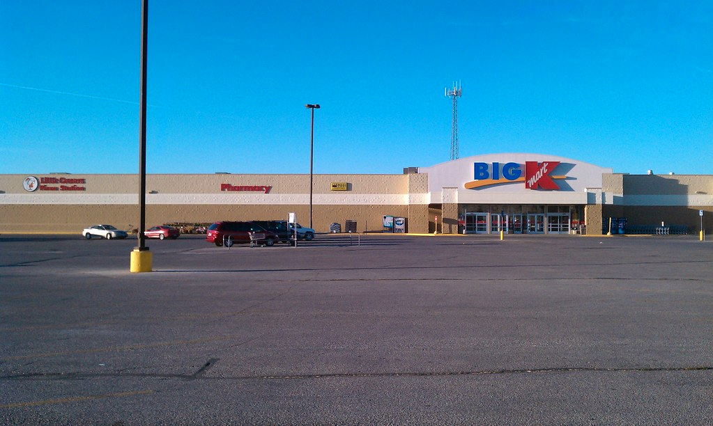 Big kmart carroll iowa flickr for Star motors iowa city