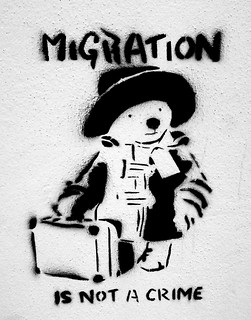 Migration is not a crime | by Steve Roe