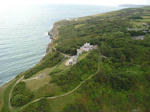 Durlston Castle from the Air | by Durlston Country Park