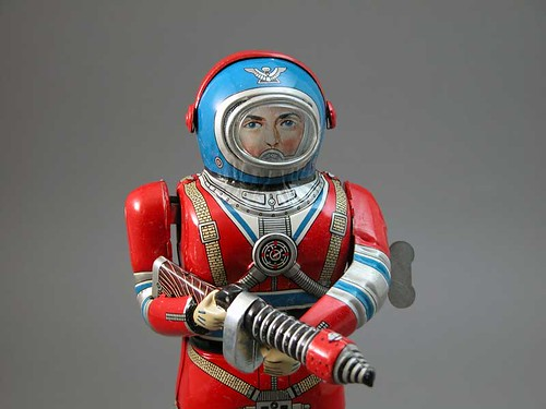 The Original Wind Up Space Astronaut | by rariora
