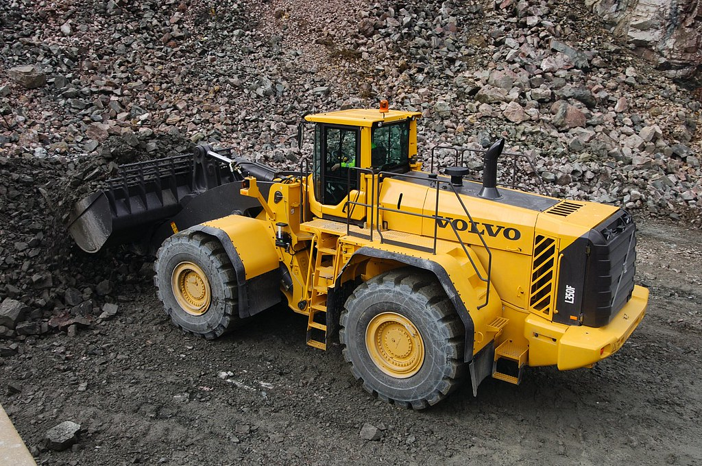 recycling wheel product en volvo construction equipment loader news