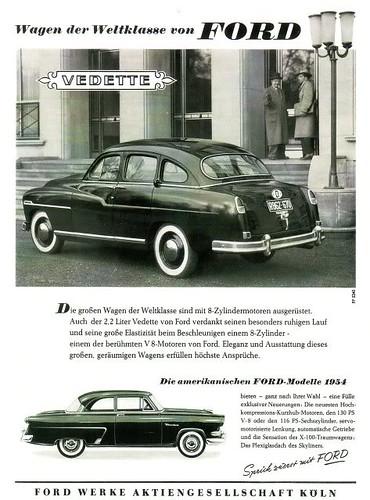 1953 ford vedette and 1954 ford mainline germany 4 flickr. Black Bedroom Furniture Sets. Home Design Ideas