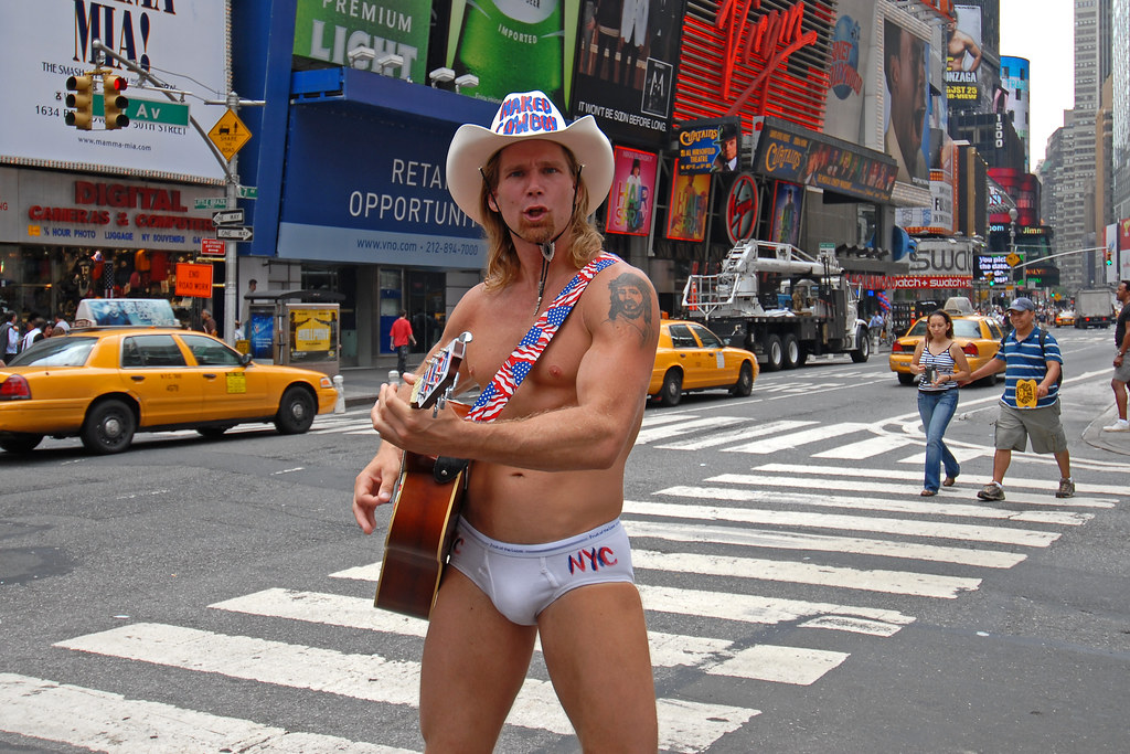The naked cowboy new york photo 31