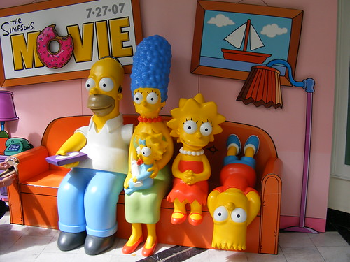 Simpsons in couch | by Desiii