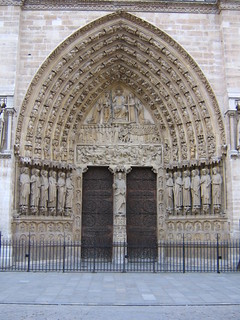 Notre Dame door without people | by betta design