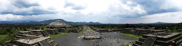 Teotihuacán (panorámico)