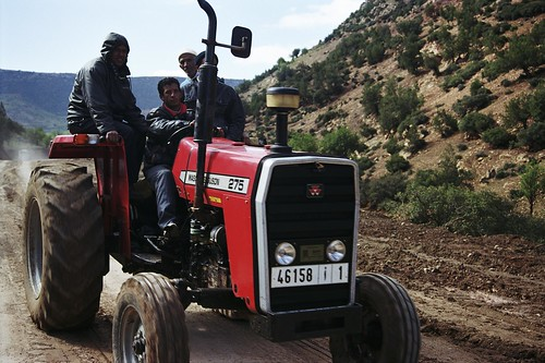 Driving a tractor | by World Bank Photo Collection