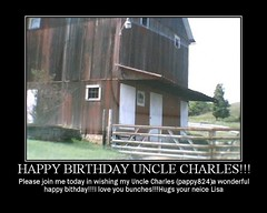 HAPPY BIRTHDAY UNCLE CHARLES!!!! | by Lisa Ann Photography