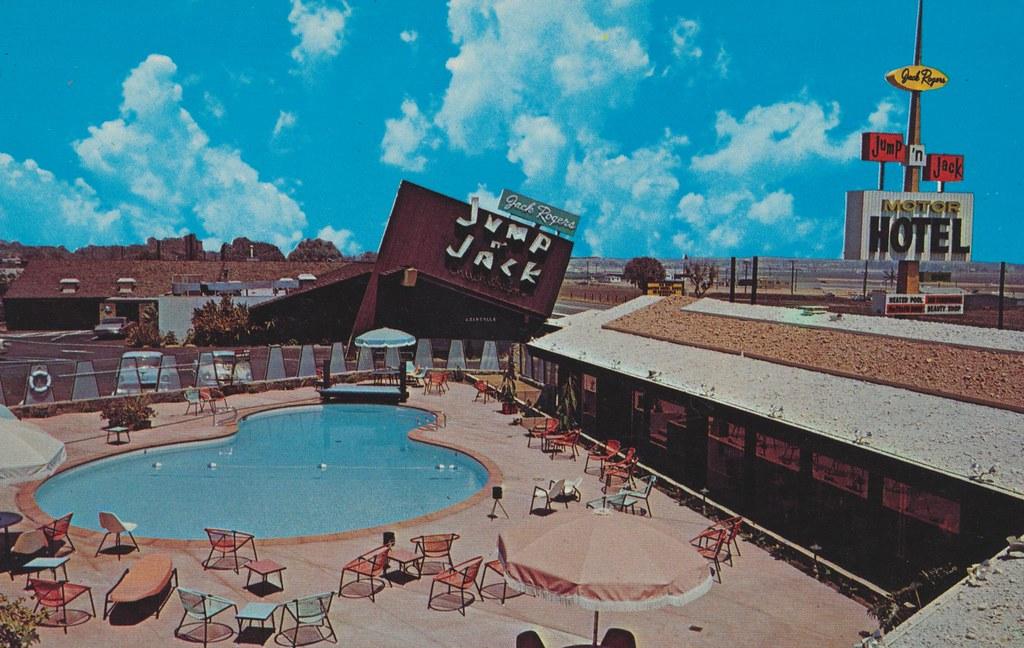 Jack Rogers Jump N' Jack Motor Hotel - Torrance, California
