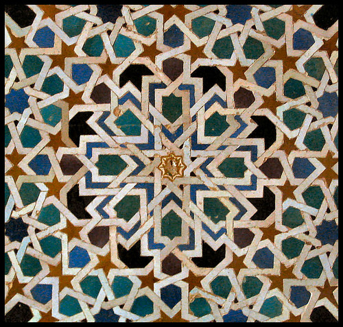 Islamic patterns: The Alhambra, Granada | by Sir Cam