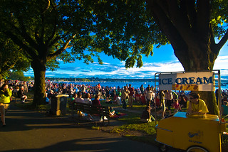 Waiting For The Celebration of Light | by Ross Belot