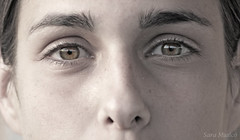 The eyes of a woman, a teenager, a child | by www.saramusico.com