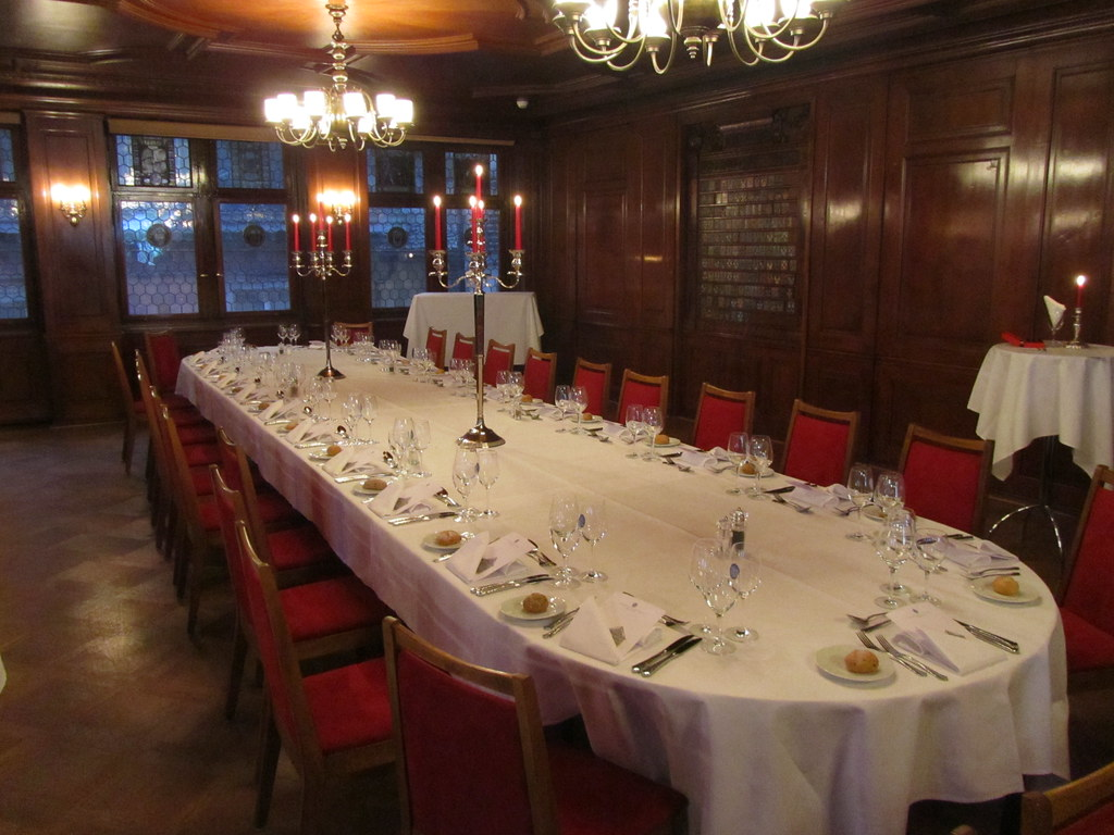 Merveilleux ... Fancy Dinner Table Restaurant Zunfthaus Zur Waag | By Dennis  Goedegebuure