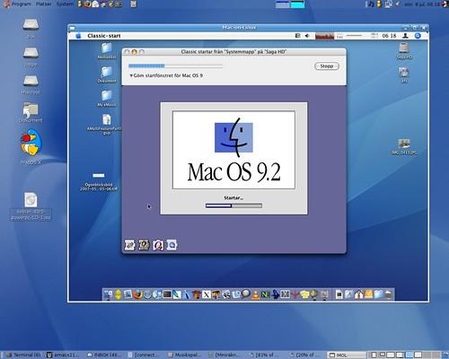Mac on mac on linux running mac os 9 2 inside mac os x for Cuisine 3d mac os x
