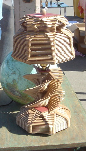 Popsicle Stick Lamp Someone S Under Appreciated Project