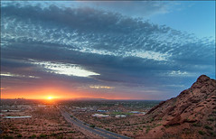 Phoenix at dusk (HDR) | by Rob Overcash Photography