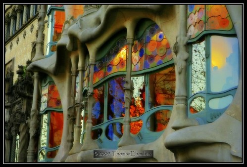 Gaudi's Barcelona- Casa Battlo - Like mirrors -HDR or not!? | by tom29ger