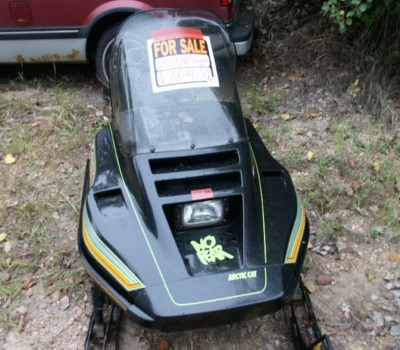 For Sale 1988 Arctic Cat Cougar 500