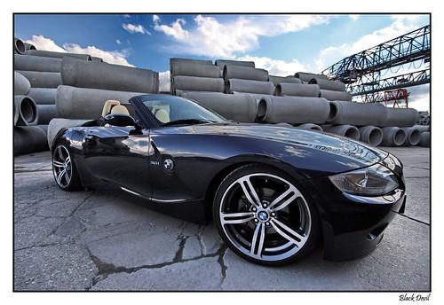 BMW Z4 nightblue with M6 wheels | Black Devil Z | Flickr