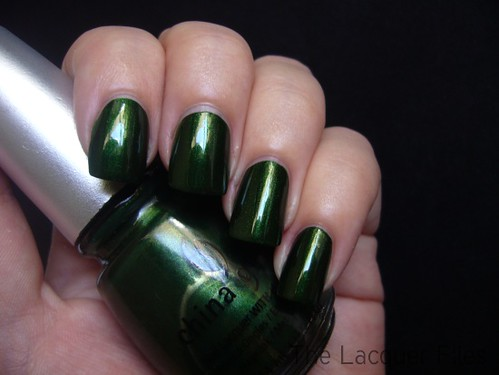 China Glaze Jolly Holly | by TheLacquerFiles