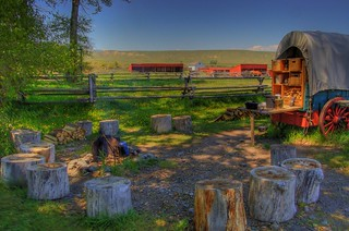 Chuck Wagon at the Grant-Kohrs Ranch | by ankneyd