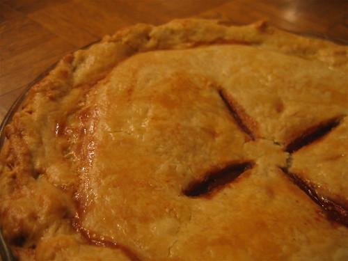 Peach-Raspberry-Cardamom Pie | by cardamom
