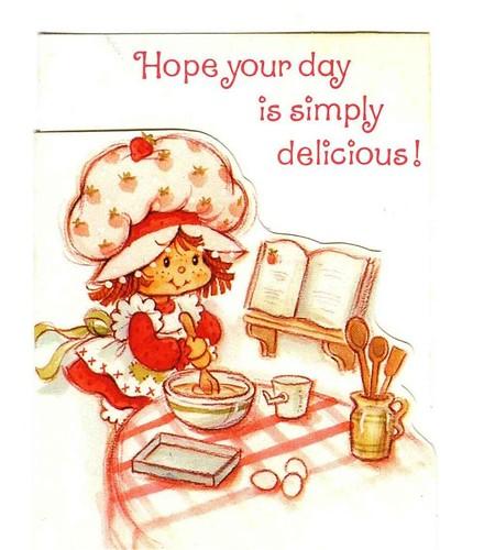 Vintage Strawberry Shortcake cards – Strawberry Shortcake Birthday Card