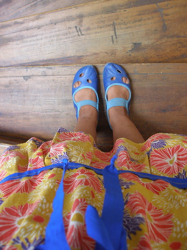 "blue shoes | by ""Gayatri"""