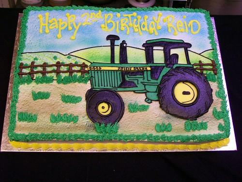 Tractor Cake Decorating : John deere tractor cake robert flickr