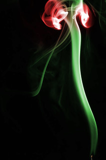 Smoke Abstract, Rose | by Herman Au - http://www.hermanau.com