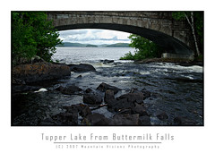 Tupper Lake From Buttermilk Falls | by Mountain Visions