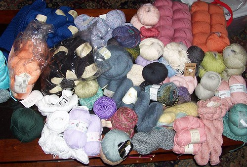 DK weight stash as of July 4, '07 | by The Prolific Knitter