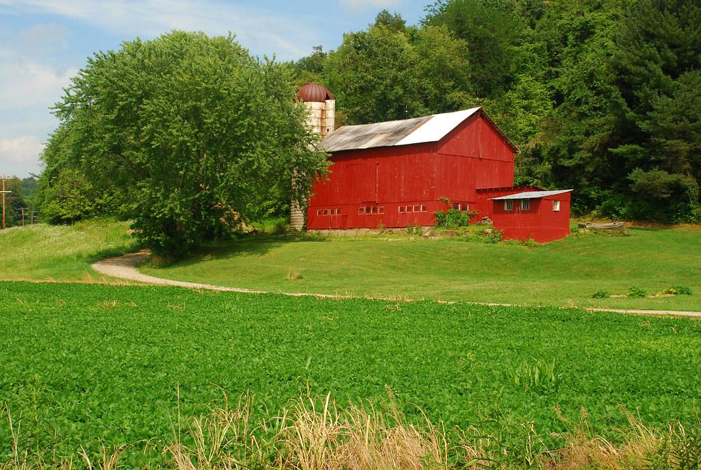 July Farm Landscape | By Thoeflich July Farm Landscape | By Thoeflich