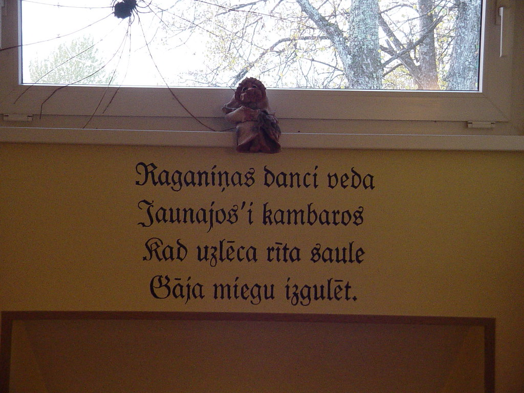 The Witches Kitchen Restaurant Decorated With Latvian N