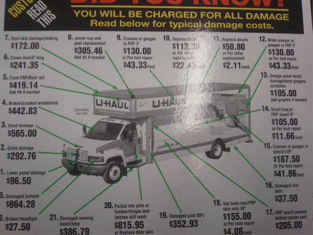 U haul diagram wiring diagram uhaul damage cost this is what it will cost if u mess up y rh flickr com u haul trailer hitch wiring diagram u haul wiring harness diagram asfbconference2016 Gallery