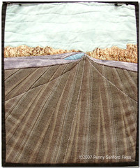 Marilyn Rose Journal Quilt: Interstate 20 between Baton Rouge and Lafayette | by Penny Sanford Porcelains