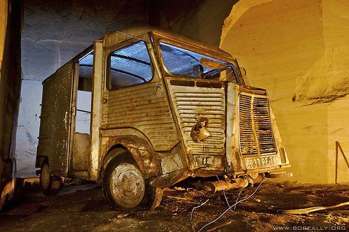 Citroen Tube abandoned in quarrie | by Boreally