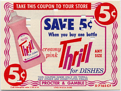 Thrill Liquid Detergent, 1963 | by Roadsidepictures