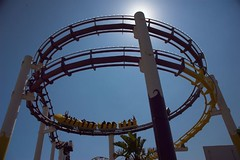 USA - Santa Monica - Pacific Park Rollercoaster 1 | by Darrell Godliman