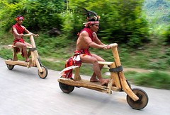 The big race. Naga Wooden Bike!! | by Longshim