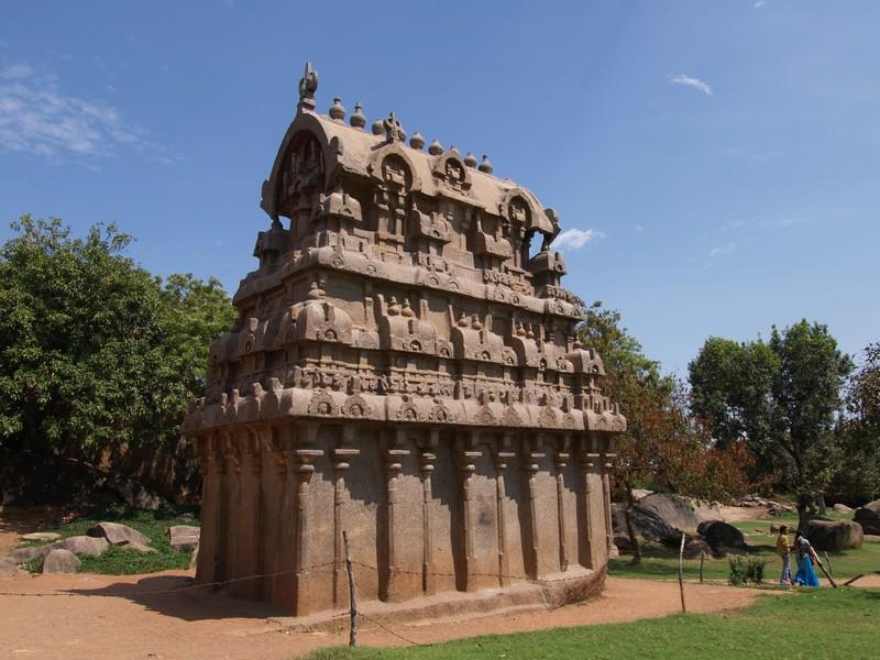 Asia India Tamil Nadu Mamallapuram Vagamundos