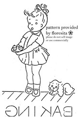 Mailorder 2-948 - little girl pattern | by floresita's transfers