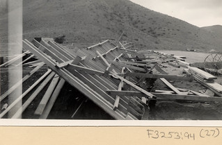 Construction Site after the Great Flood of 1938 | by California State University Channel Islands