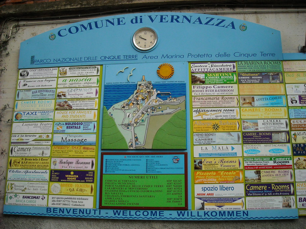 Welcome to Vernazza