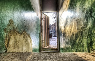 A View Out of the Front Door of my Kharkov Apartment | by Stuck in Customs