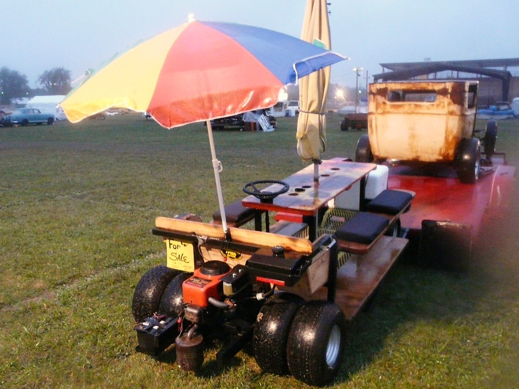 Motorized Picnic Table Shadowgwm Flickr - Motorized picnic table for sale