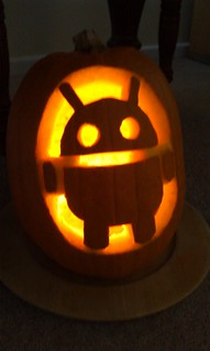 Android pumpkin awesomeness | by barney.craggs