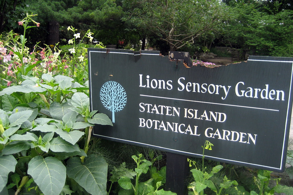 ... NYC   Staten Island   Sailorsu0027 Snug Harbor: Staten Island Botanic  Gardens   Lions