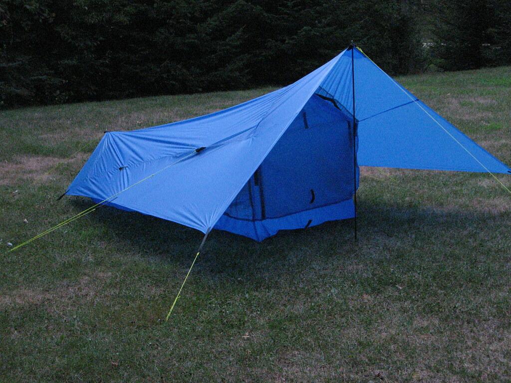 ... ProfessorHester Bilgy Tent Front-Door Closed | by ProfessorHester & Bilgy Tent Front-Door Closed | I built this tent from scratcu2026 | Flickr